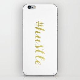 #hustle  iPhone Skin