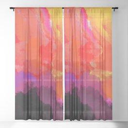 Chaos Sheer Curtain