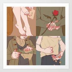 Cosette•Marius•Gavroche•Eponine Art Print