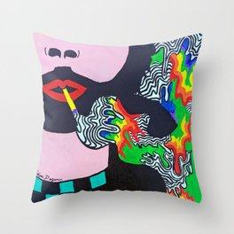 b0gart Throw Pillow