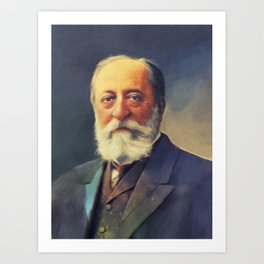 Camille Saint-Saens, Music Legend Art Print