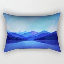 Midnight Blue Rectangular Pillow