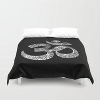 om Duvet Covers featuring OM by Maioriz Home