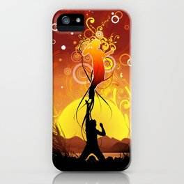 Set Free iPhone Case