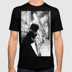 A night to remember  Mens Fitted Tee Black MEDIUM