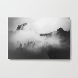 Fog Movin' In Metal Print
