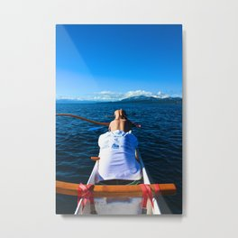 Lake Tahoe, California - Stretch Metal Print