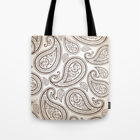 Paisley Threads Tote Bag