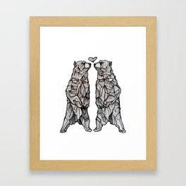 Same Love Framed Art Print
