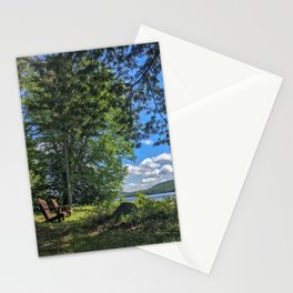 Adirondack Chairs Stationery Cards