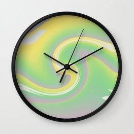 Joyful Swirl Wall Clock