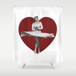 My Lovely Date Shower Curtain