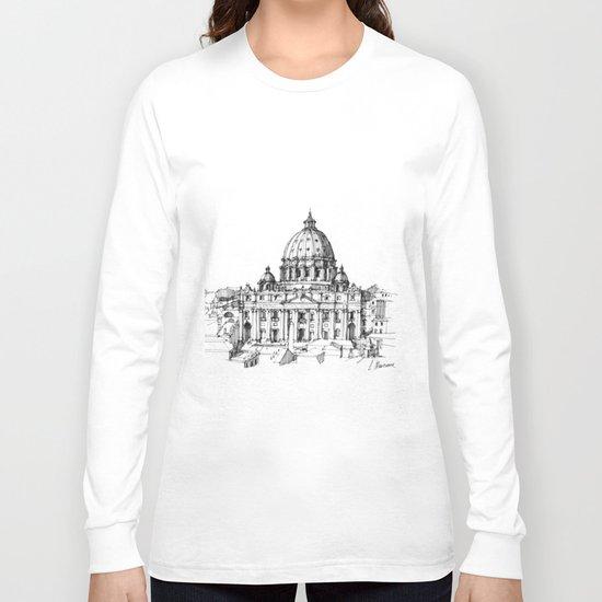 Basilica di S. Pietro a Roma Long Sleeve T-shirt