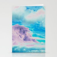 cloud Stationery Cards featuring Cloud by Amy Sia
