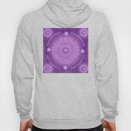 """Purple & Mallow Vault Mandala"" (Silver stars) Hoody"