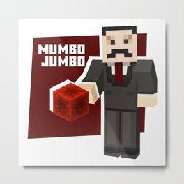 Mumbo Jumbo Hermit Metal Print