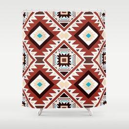 Native American 4 Shower Curtain