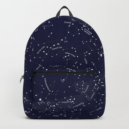Constellation Map - Indigo Backpack