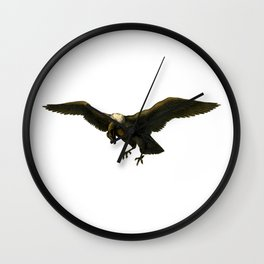 Vintage Vulture Wall Clock