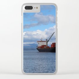 Port of Ushuaia Clear iPhone Case