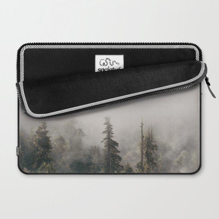 Forbidden Forest - Wanderlust Nature Photography Laptop Sleeve