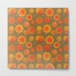 Daffodil Disco Metal Print