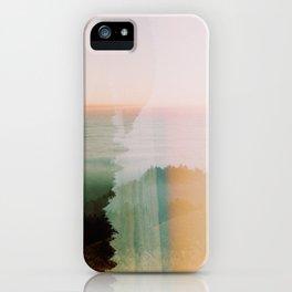 Moody Mountain Double Exposure - 35mm Film iPhone Case