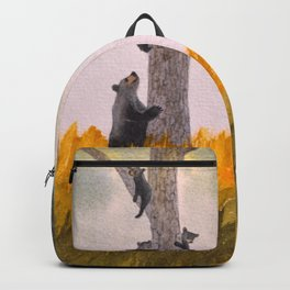 Bears In The Blue Ridge Mountains Backpack