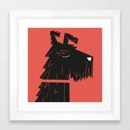 Dog_12 Framed Art Print
