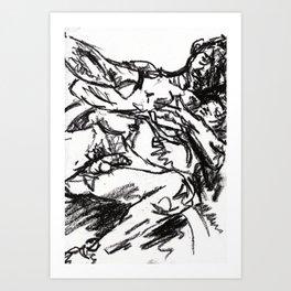 lovers | fighters Art Print