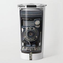 Vintage Autographic Kodak Jr. Camera Travel Mug