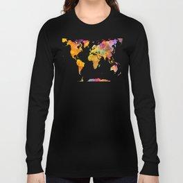world map 23 Long Sleeve T-shirt