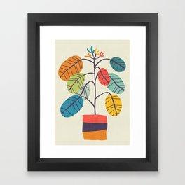 Potted plant 2 Framed Art Print