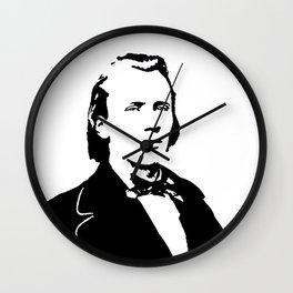 Johannes Brahms (1833 – 1897) in 1853 Wall Clock