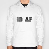 1d Hoodies featuring 1D AF by SaladInTheWind