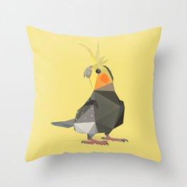 Parakeet Throw Pillow