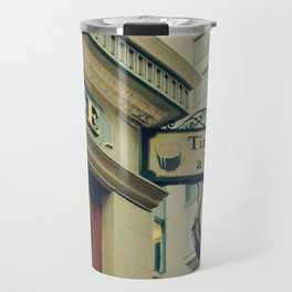 It's time for a pint! Sign - Fine Art Photography Travel Mug