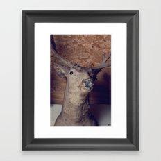 Uncle Buck Framed Art Print