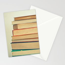Stack of Books Stationery Cards