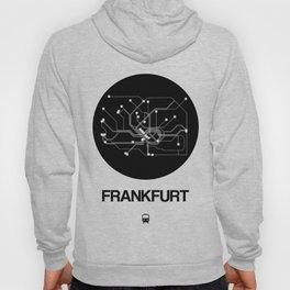 Frankfurt Black Subway Map Hoody