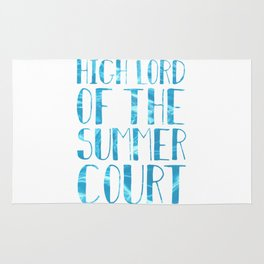 High Lord of the Summer Court Rug
