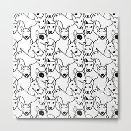 Oh Bull Terrier Metal Print