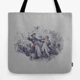 Epic Battle Tote Bag