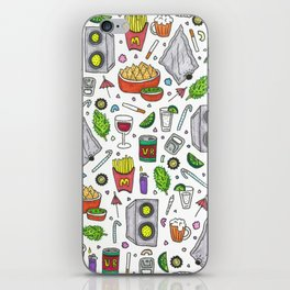PARTY iPhone Skin
