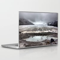 lee pace Laptop & iPad Skins featuring Glacial Pace by MARLER MADE