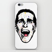 american psycho iPhone & iPod Skins featuring American Psycho by CultureCloth