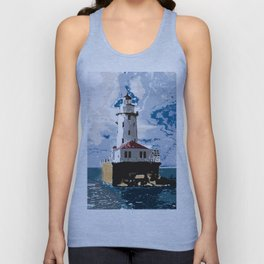 The Chicago Lighthouse Unisex Tank Top