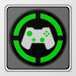 Xbox Gamer Canvas Print
