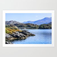 nan lawson Art Prints featuring Loch nan uamh Viaduct 2 by Chris Thaxter