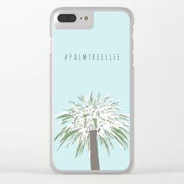 #palmtreelife - Palm Tree Life Clear iPhone Case